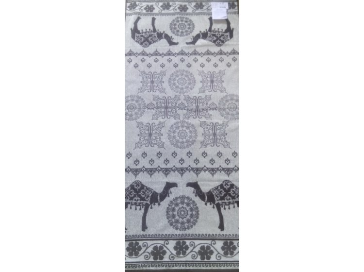 Махровое полотенце Речицкий текстиль. Верблюд, размер 67х150 см