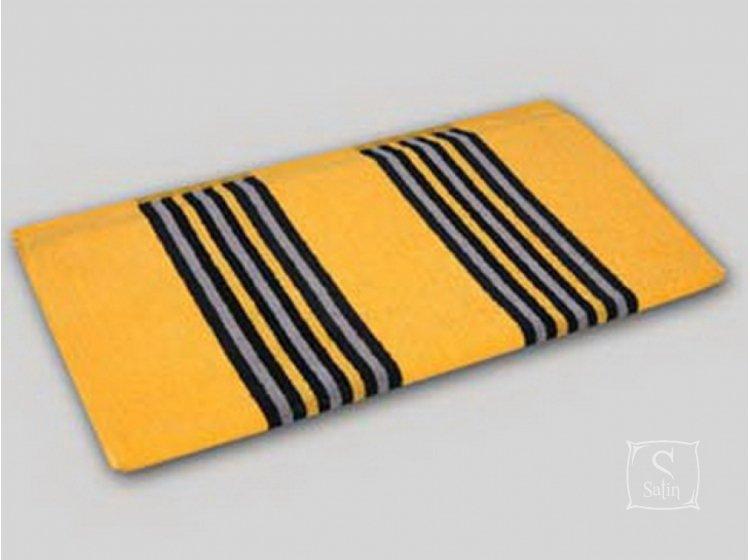 Махровое полотенце Речицкий текстиль. Гранд желтый, размер 68х140 см