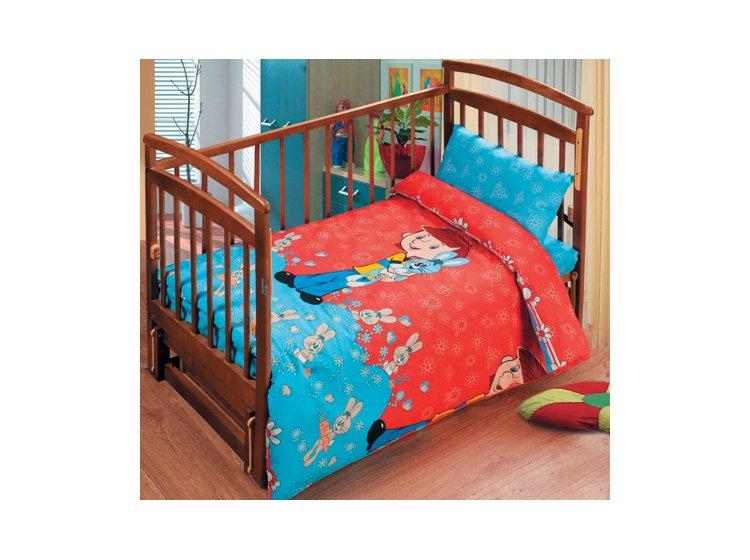 Постельное белье в детскую кроватку Непоседа. Дядя Фёдор