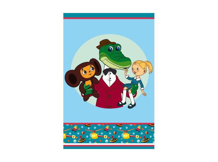 Комплект из 2-х детских полотенец Непоседа. Дружба