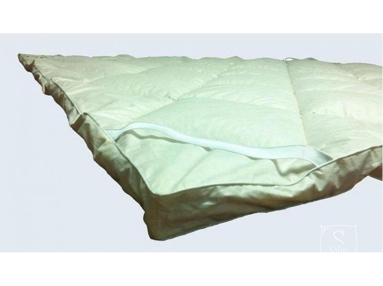 Наматрасник Iglen хлопковый в детскую кроватку, размер 60х120 см