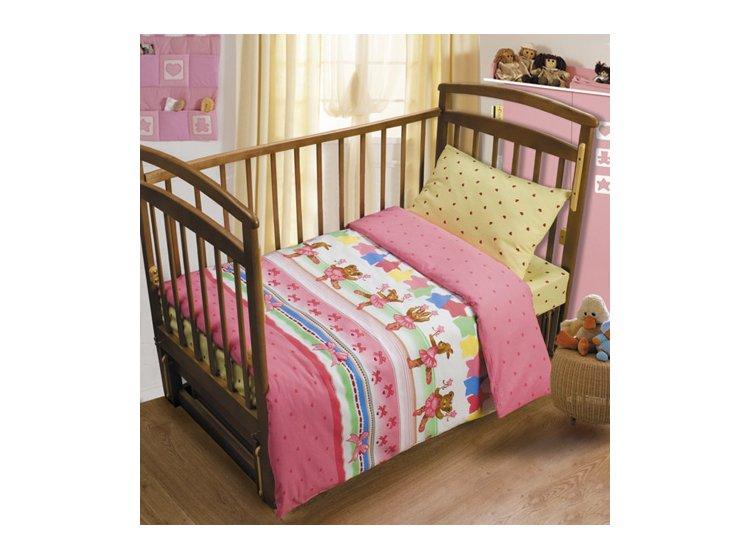 Постельное белье в детскую кроватку Непоседа. Танец маленьких медвежат