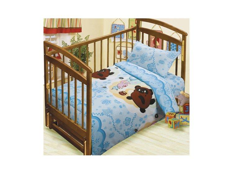 Постельное белье в детскую кроватку Непоседа. Чудесная прогулка