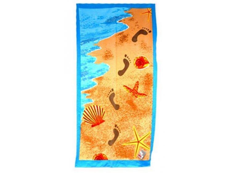 Полотенце пляжное Shamrock. Морской берег, размер  75х150
