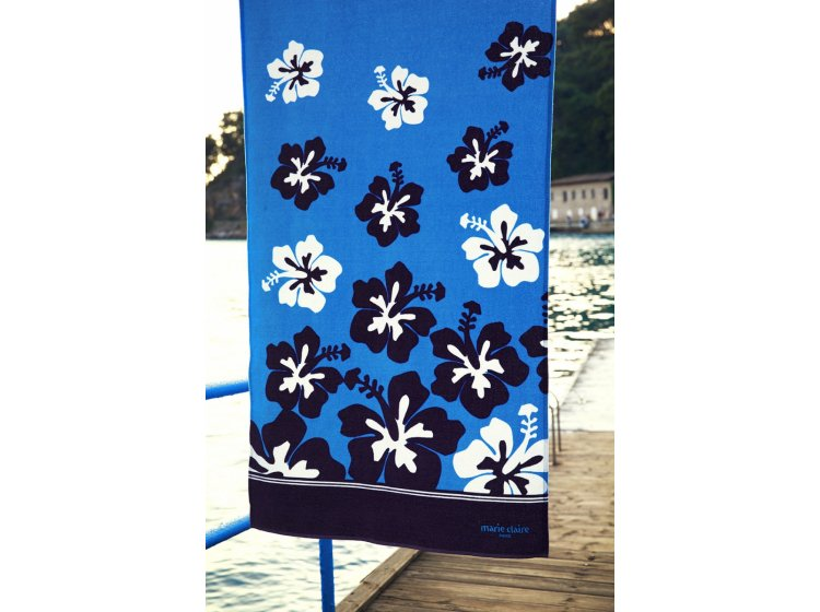 Пляжное полотенце Marie claire. Fortaleza turkuaz, размер 75х150 см