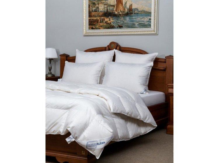 Подушка 100% пуха и одеяло SoundSleep Soaring