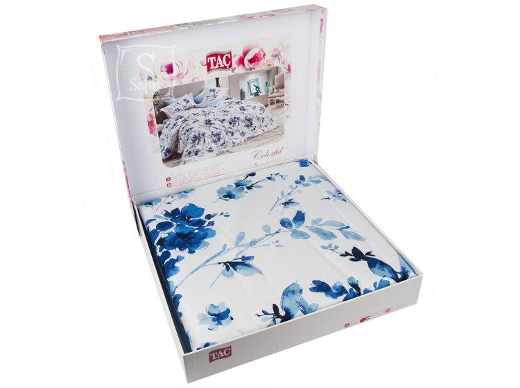 Постельное белье TAC. Digital Farida синий в упаковке
