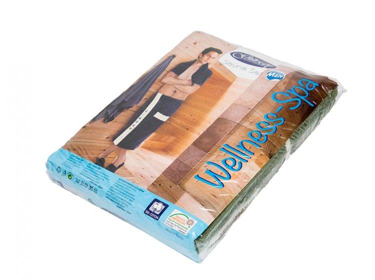 Набор для сауны мужской Gursan, темно-синий, 3 предмета упаковка