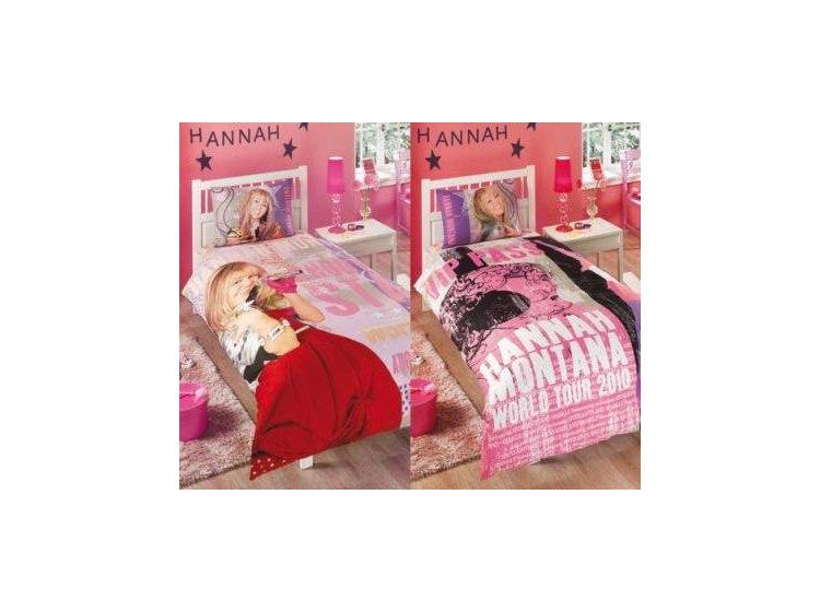 Детское постельное белье ТАС. Hannah Montana Star