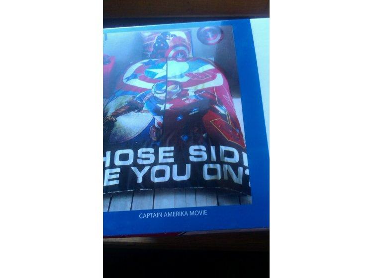 Постельное белье TAC. Captain Amerika Movie Disney упаковка