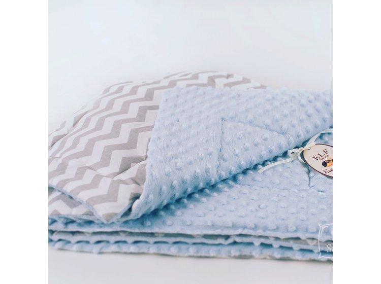 Комплект плюшевый в детскую кроватку Elfdreams. Minky Небо