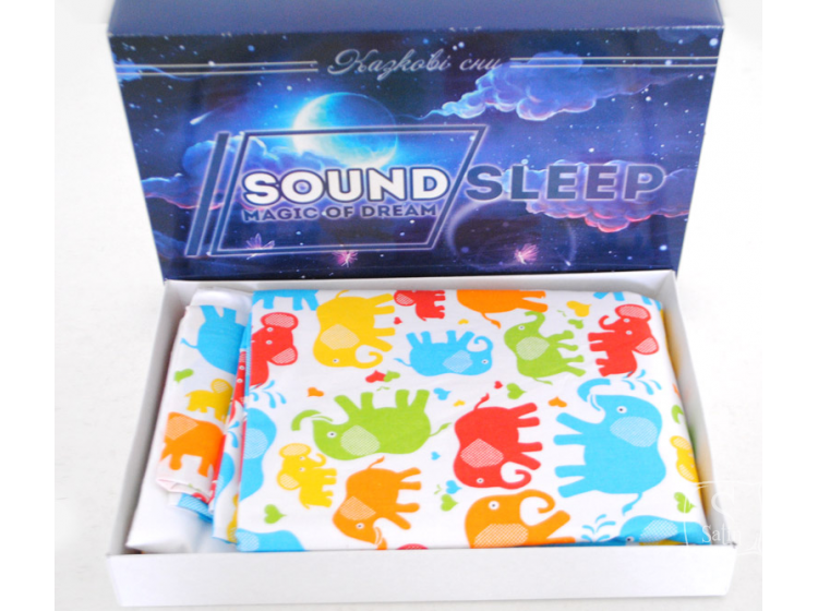 Постельное белье детское SoundSleep. Kind elephant, упаковка