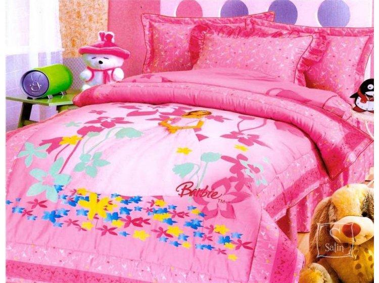 """Детское постельное белье La Scala. КI-007 """"Barbie"""""""