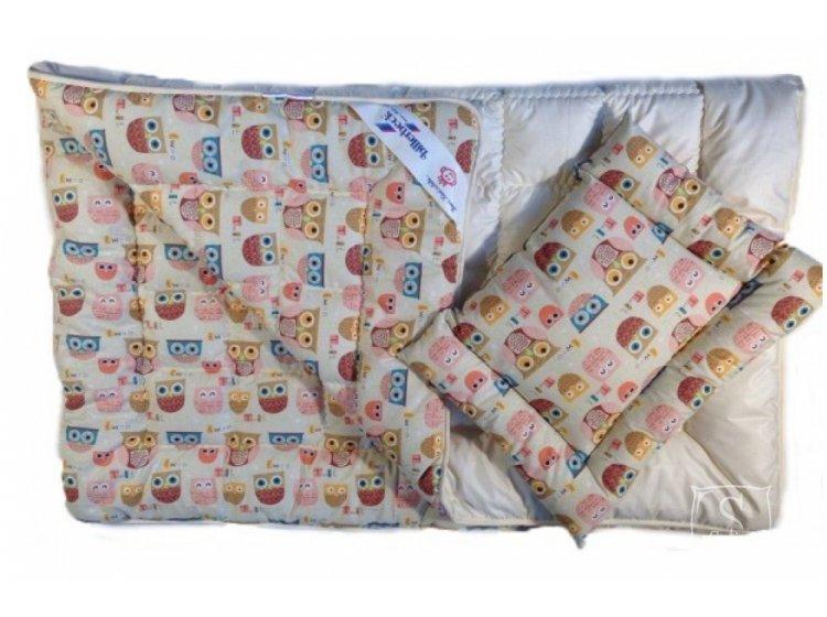 """Комплект Billerbeck """"Малыш"""", одеяло+подушка из шерсти"""