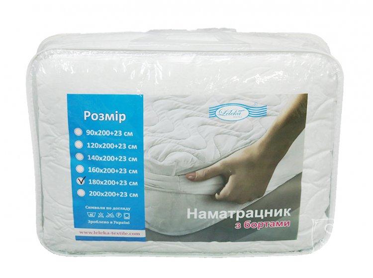 Наматрасник Leleka-Textile. Хмаринка с бортом упаковка