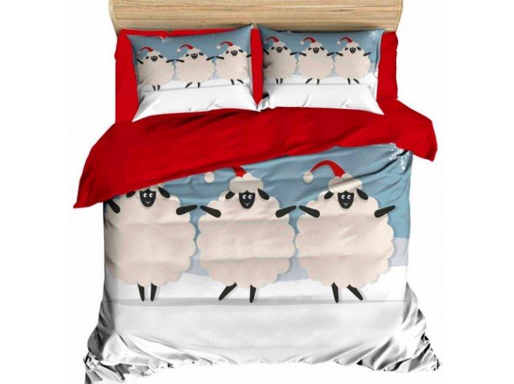 Постельное белье LightHouse. 3D Happy Sheep