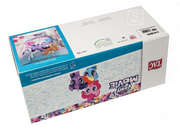 Детское постельное белье TAC. Little Pony Movie упаковка
