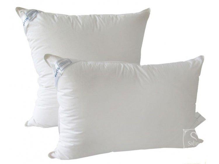 Подушка 30% пуха SoundSleep. Love белая