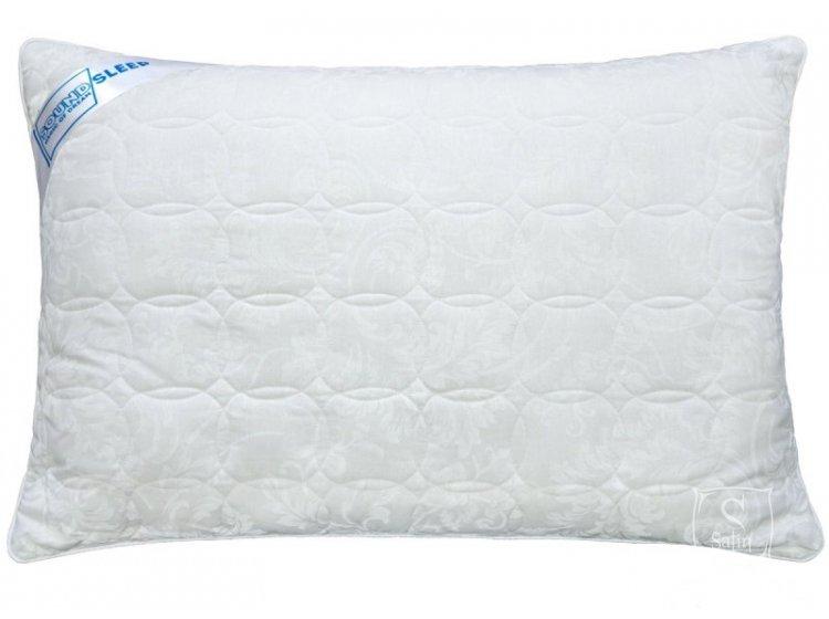 Подушка антиаллергенная SoundSleep. Lovely белая 50х70 см