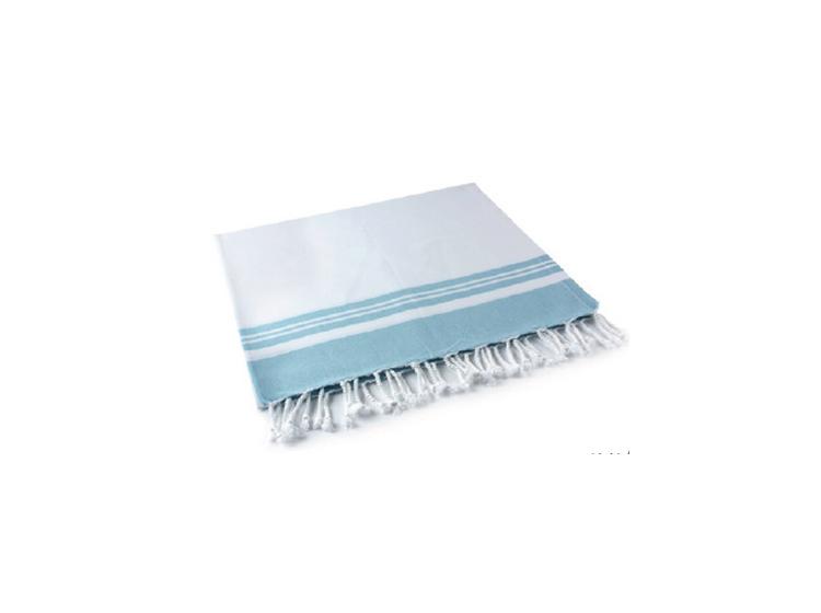 Полотенце Buldans. Lykia mavi тенсел/хлопок, 100х180 см