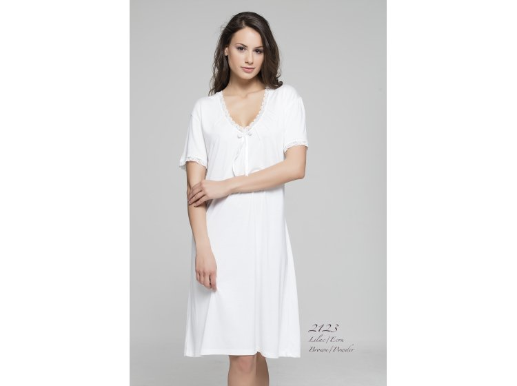 Ночная рубашка Mariposa. Модель 2123 ekru