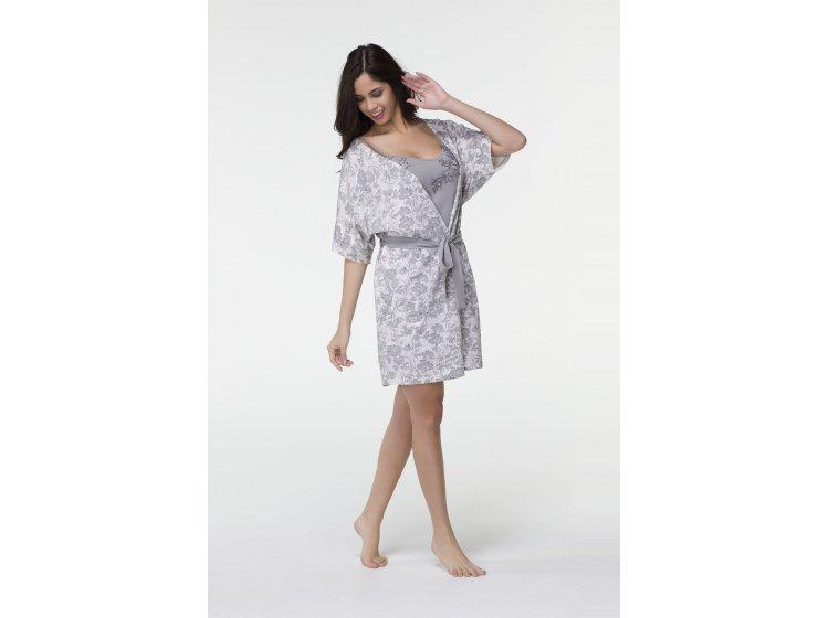 Комплект ночная сорочка и халат Hays. Модель 6563