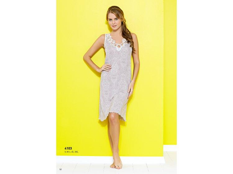 Платье для сна Mariposa. Модель 4103 кремовый