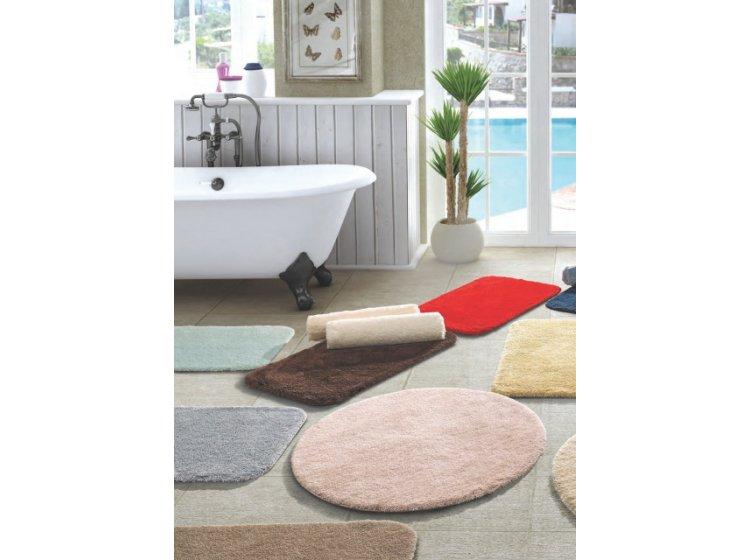 Коврик для ванной Confetti. Miami pastel pembe, прорезиненный