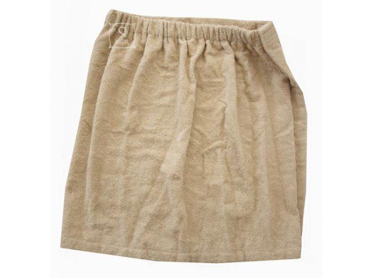 Юбка-килт мужская для сауны Home Line бежевого цвета