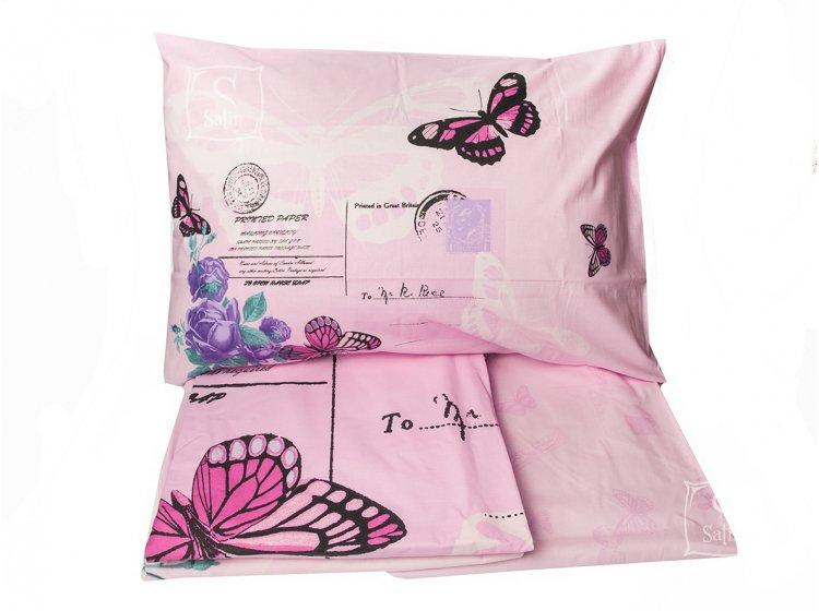 Постельное белье TAC. Nina pink комплект