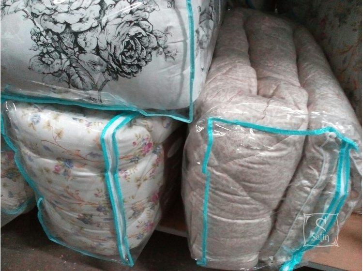 Одеяло Leleka-Textile. Вовняна стандарт в ассортименте в упаковке