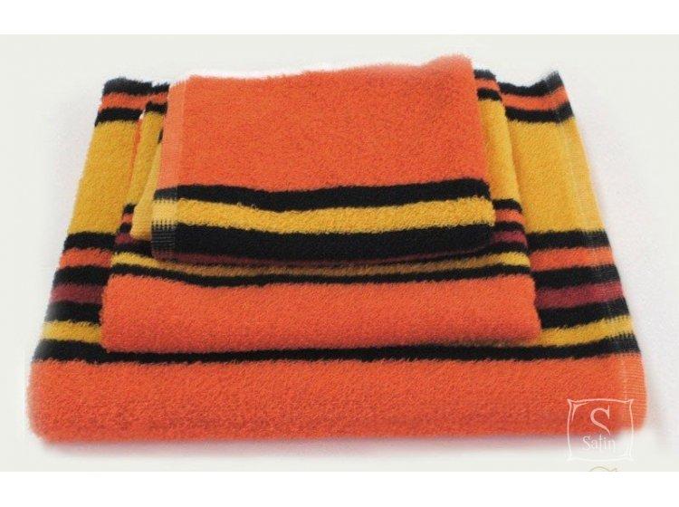 Полотенце махровое SoundSleep. Оранжевое