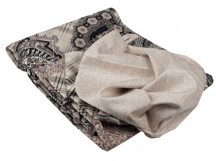 Постельное белье TAC. Digital Orient brown пододеяльник