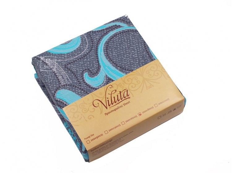 Простынь на резинке Viluta. Ранфорс 9844