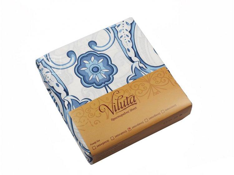 Простынь на резинке Viluta. Ранфорс 1644