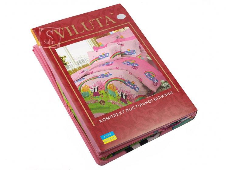 Детское постельное белье Viluta. Свинка Пеппа 17136 (57) упаковка