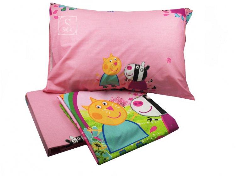 Детское постельное белье Viluta. Свинка Пеппа 17136 (57) комплект