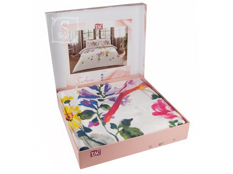 Постельное белье TAC. Paradise V01 Sari в упаковке