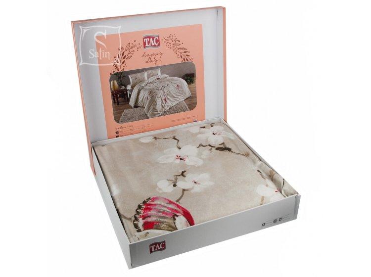 Постельное белье TAC. Fiona V01 Bej в упаковке