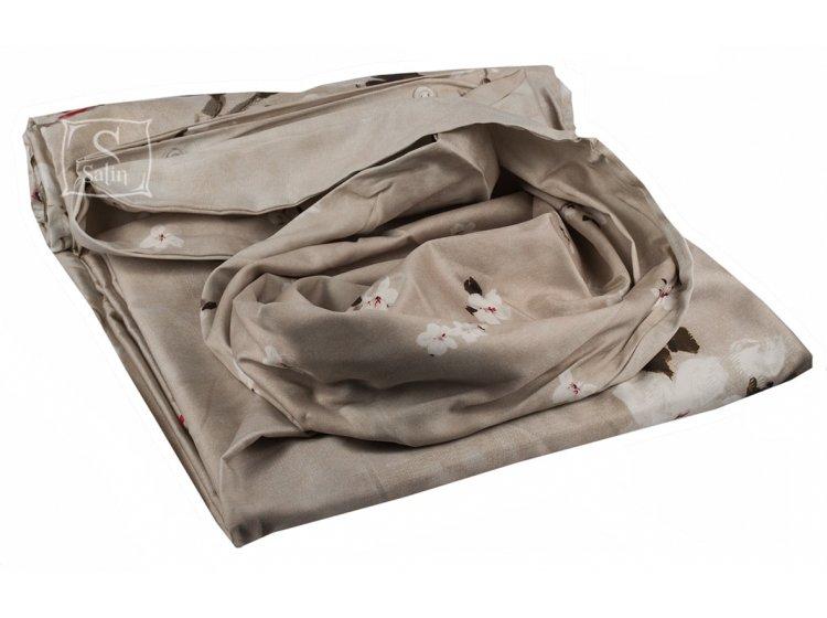 Постельное белье TAC. Fiona V01 Bej пододеяльник