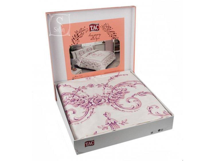 Постельное белье TAC. Dora V01 Pembe в упаковке
