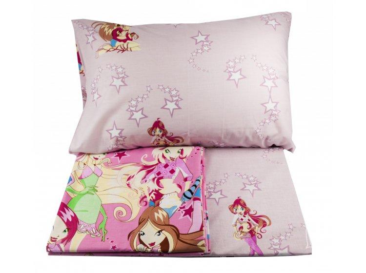 Детское постельное белье Viluta. Винкс 17134 (57) комплект