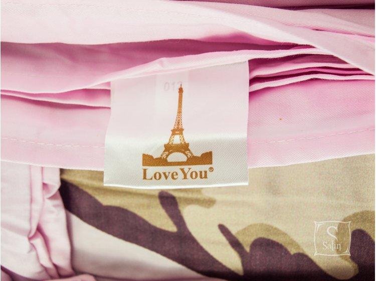 Постельное белье Love you.Сатин Digital Юнона бирка