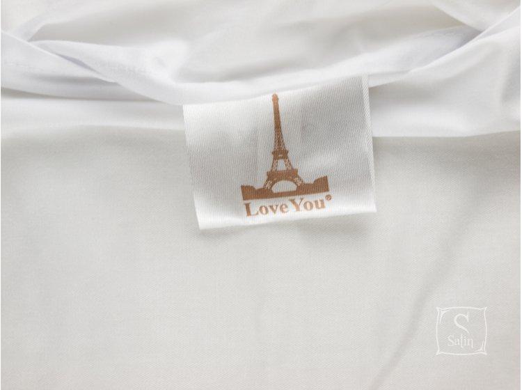 Постельное белье Love you.Сатин Digital Вега бирка