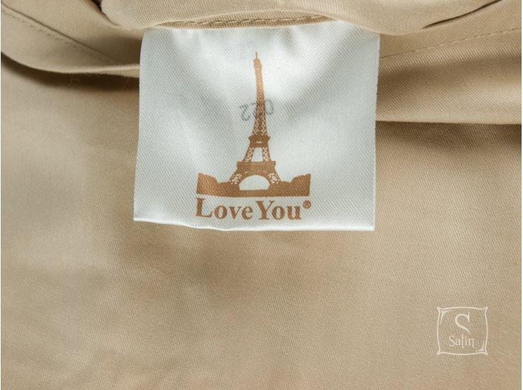 Постельное белье Love you.Сатин Digital Диана бирка