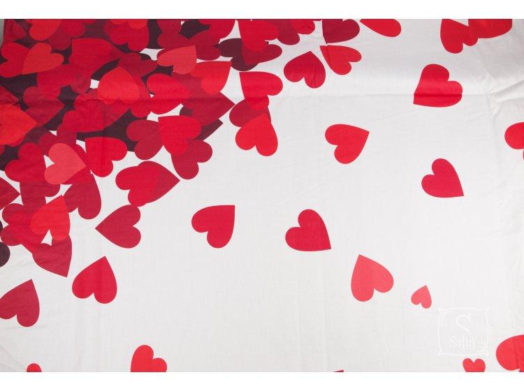 Постельное белье Love you.Сатин Digital Венера детали