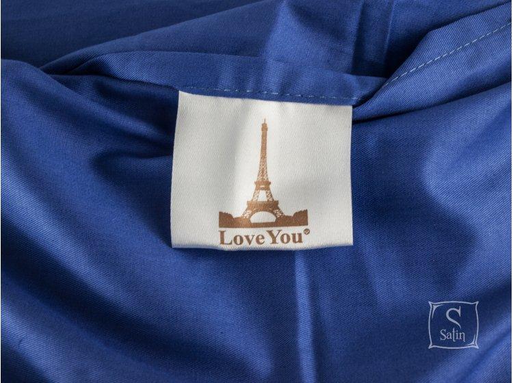 Постельное белье Love  you.Сатин Digital Лагуна бирка