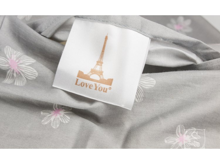 Постельное белье Love you. Сатин-лайт ml 79 бирка