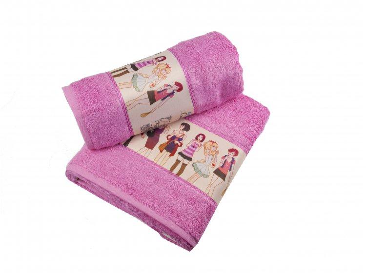Набор махровых полотенец Cestepe. Bamboo Junior Модницы