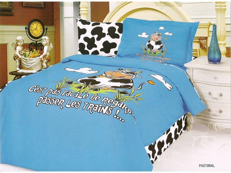Постельное белье в детскую кроватку LeVele. Pastoral